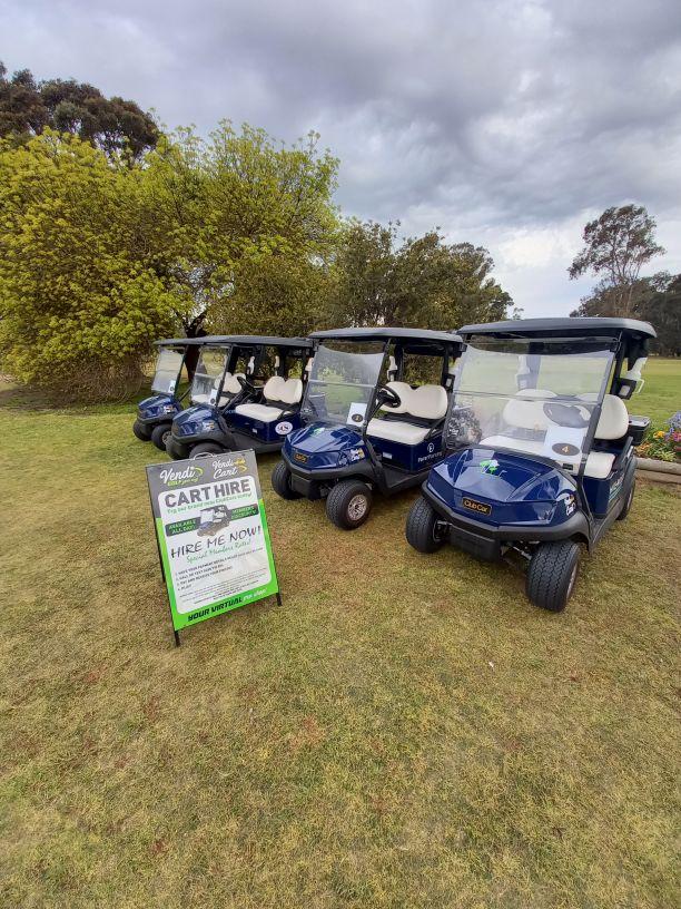 Vendi Cart at Maffra Golf Club