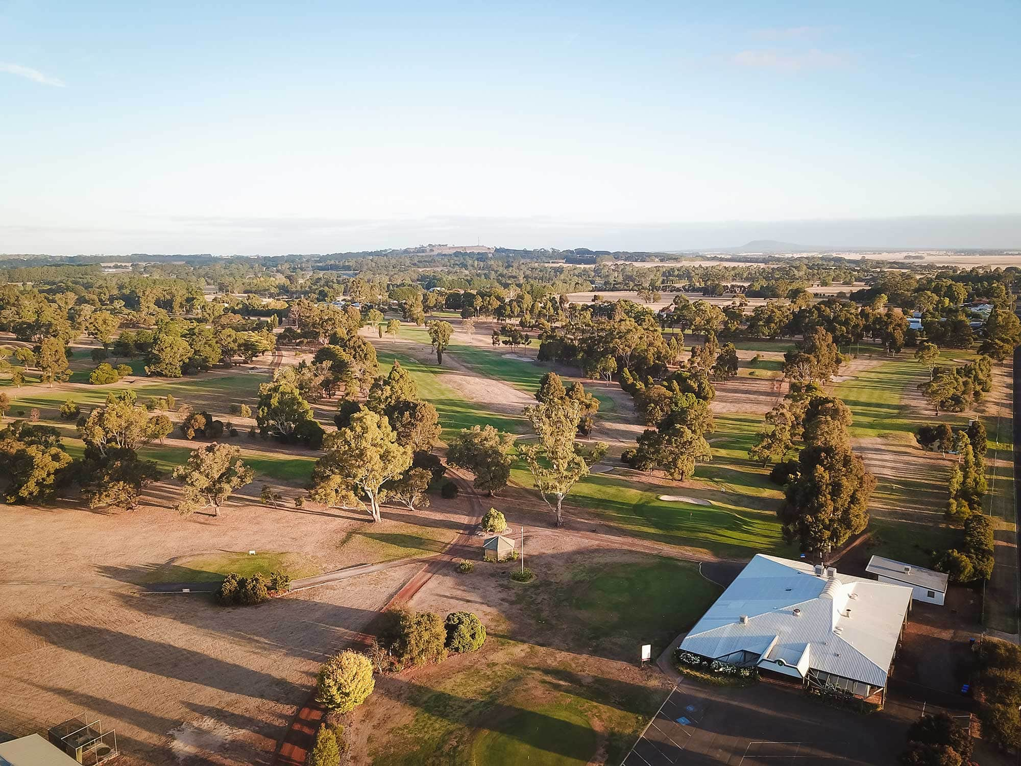 Hamilton Golf Club Sky View